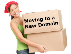 Moving Content to a New Domain