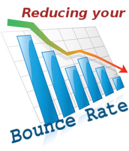 Reducing Website Bounce Rates to Improve Stickiness